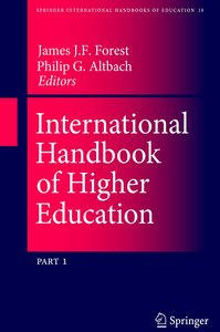 International Handbook of Higher Education
