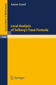 Local Analysis of Selberg's Trace Formula