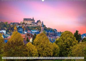 Mittelhessens Burgen und Schlösser (Wandkalender 2020 DIN A2 que