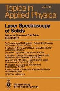 Laser Spectroscopy of Solids