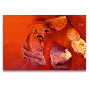 Premium Textil-Leinwand 120 cm x 80 cm quer Windstone Arch, Vall