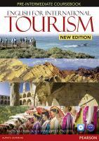 English for International Tourism New Edition Pre-intermediate C - zum Schließen ins Bild klicken