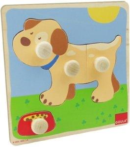 Holzpuzzle Hund