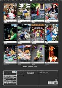 Leben in Vietnam 2019 (Wandkalender 2019 DIN A2 hoch)
