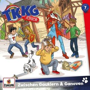 TKKG Junior 07/ Zwischen Gauklern und Ganoven, 1 Audio-CD