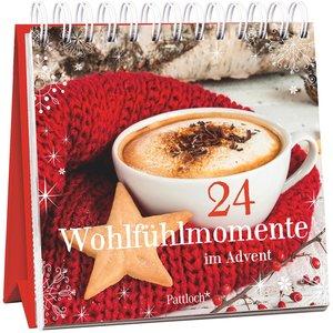 24 Wohlfühlmomente im Advent. Adventskalender