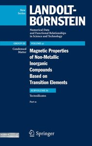 Magnetic Properties of Tectosilicates 1