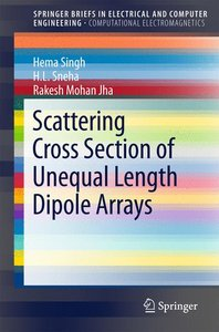Scattering Cross Section of Unequal Length Dipole Arrays