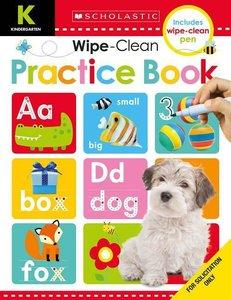 Wipe Clean Workbooks: Kindergarten Practice Book (Scholastic Ear