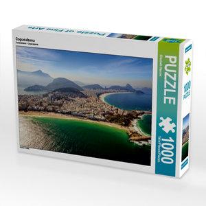 CALVENDO Puzzle Copacabana 1000 Teile Lege-Größe 64 x 48 cm Foto