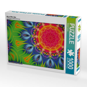 day at the lake 1000 Teile Puzzle quer