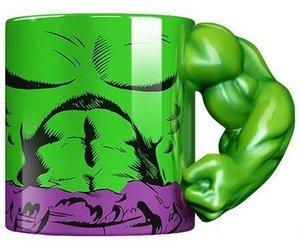 MARVEL Incredible Hulk Tasse Torso mit 3D Arm, Mug, 350 ml