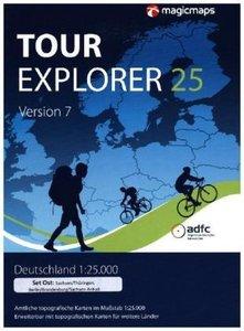 Tour Explorer 25 Set Ost Berlin / Brandenburg / Sachsen-Anhalt /
