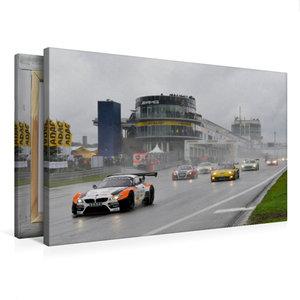 Premium Textil-Leinwand 75 cm x 50 cm quer ADAC GT Masters