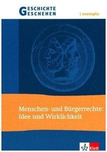 Geschichte und Geschehen exempla. Menschen- und Bürgerrechte