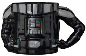 STAR WARS Darth Vader, Tasse Torso mit 3D Arm, Mug, 350 ml