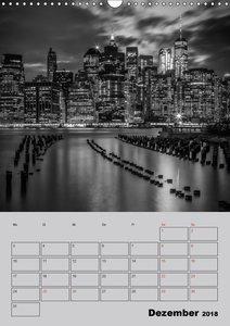 NEW YORK CITY Monochrome Stadtansichten
