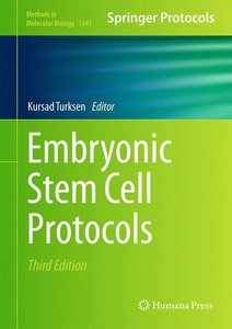 Embryonic Stem Cell Protocols