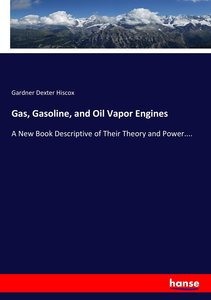 Gas, Gasoline, and Oil Vapor Engines