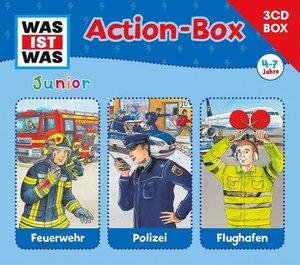 Was Ist Was Junior-3-CD Hörspielbox-Actionbox
