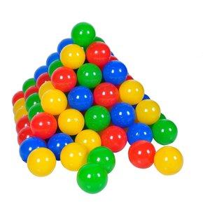 Knorrtoys 56790 - Ballset 300 Stück, 6 cm, Plastikbälle für Bäll