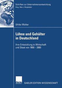 Löhne und Gehälter in Deutschland