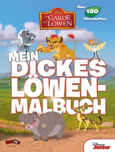 Die Garde der Löwen - Mein dickes Löwenmalbuch