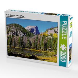 CALVENDO Puzzle Rocky Mountain National Park 2000 Teile Lege-Grö