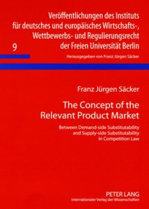 The Concept of the Relevant Product Market