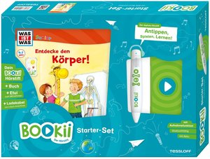 Bookii Starterset WAS IST WAS Junior Entdecke den Körper! Buch +