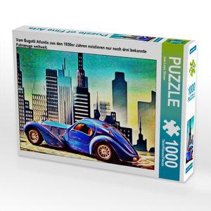 CALVENDO Puzzle Vom Bugatti Atlantic aus den 1930er Jahren exist