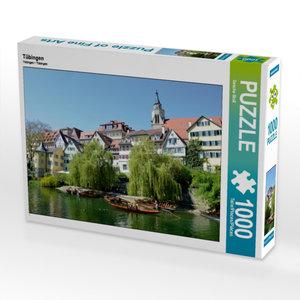 Tübingen 1000 Teile Puzzle quer
