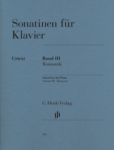 Sonatinen für Klavier Band III, Romantik