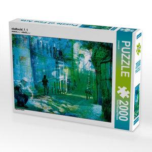 stadtwald_1_1 2000 Teile Puzzle quer