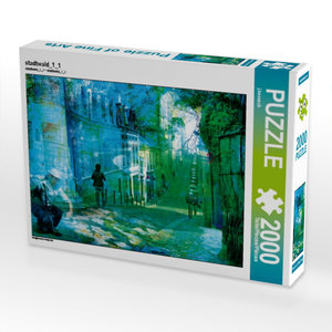 stadtwald_1_1 2000 Teile Puzzle quer