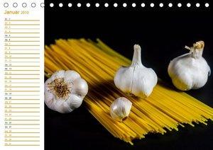 Pasta (Tischkalender 2019 DIN A5 quer)