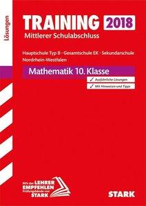 Training Mittlerer Schulabschluss Hauptschule 2018 Typ B / Gesam