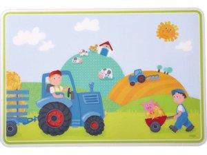 HABA 302822 - Kinder-Tischset Traktor