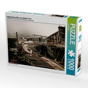 Independence Mine am Hatcher Pass 1000 Teile Puzzle quer