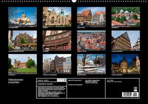 Hildesheimer Ansichten (Wandkalender 2019 DIN A2 quer)
