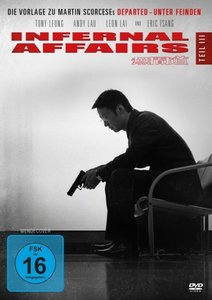 Infernal Affairs. Tl.3, 1 DVD