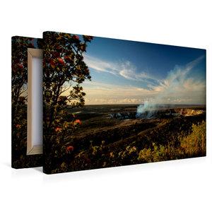Premium Textil-Leinwand 45 cm x 30 cm quer Sonnenaufgang am Krat