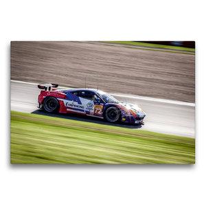 Premium Textil-Leinwand 75 cm x 50 cm quer SMP RACING - Ferrari