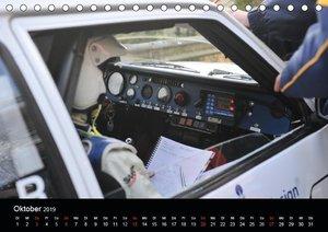 Asphalt und Schotter Rallye (Tischkalender 2019 DIN A5 quer)