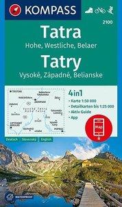 Vysoké - Západné - Belianske Tatry Hohe - Westliche - Belaer Tat