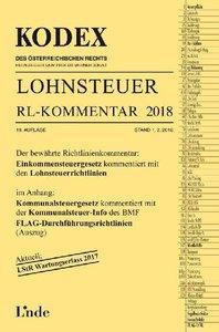 KODEX Lohnsteuer Richtlinien-Kommentar 2018