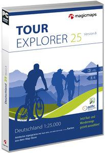 TOUR Explorer 25 Set Nord, Version 8.0 (Bremen, Hamburg, Schlesw