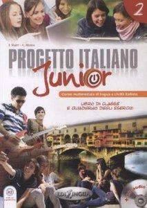 Marin, T: Progetto Italiano Junior 2 Podrecznik + CD