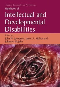 Handbook of Intellectual and Developmental Disabilities