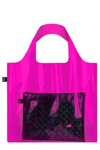 TRANSPARENT, Transparent Pink. Bag
